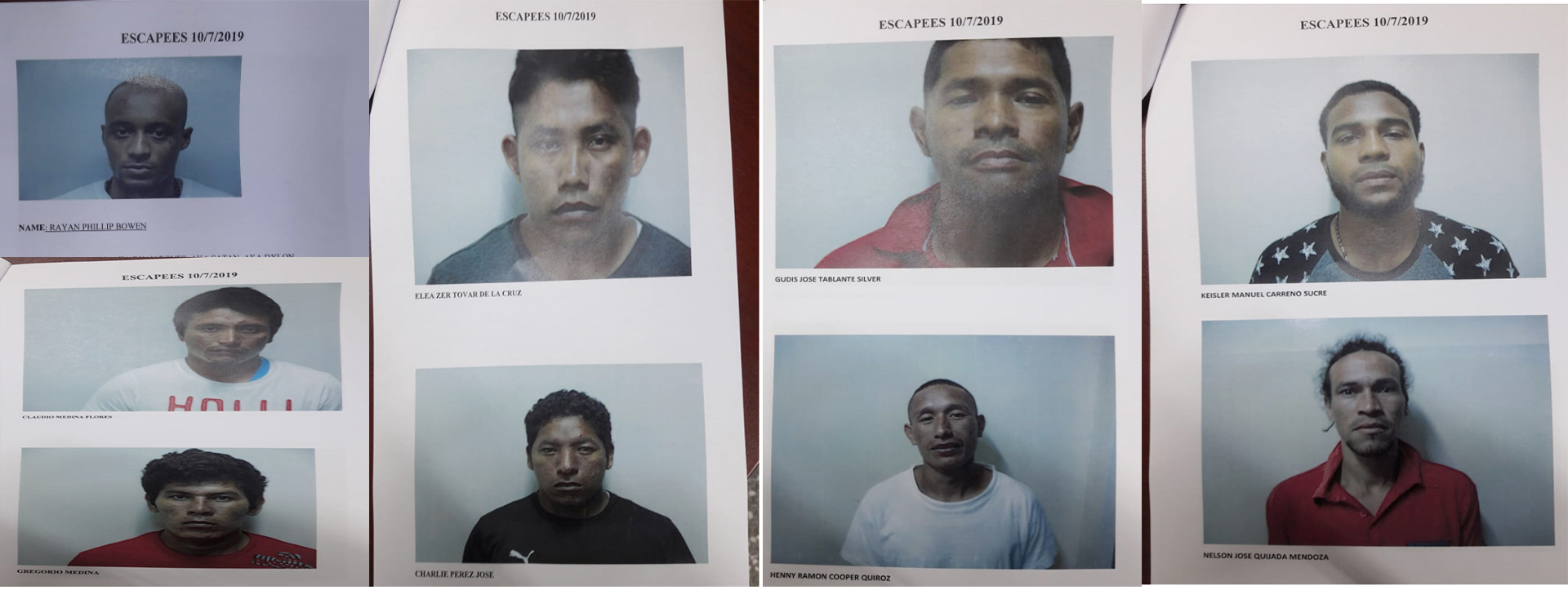 2 Venezuelan Escapees Surrender