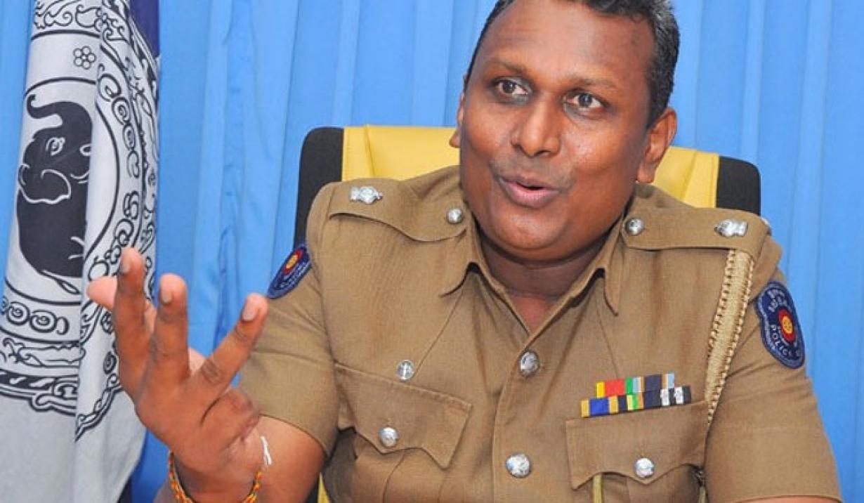Sri Lanka Police Chief Arrested