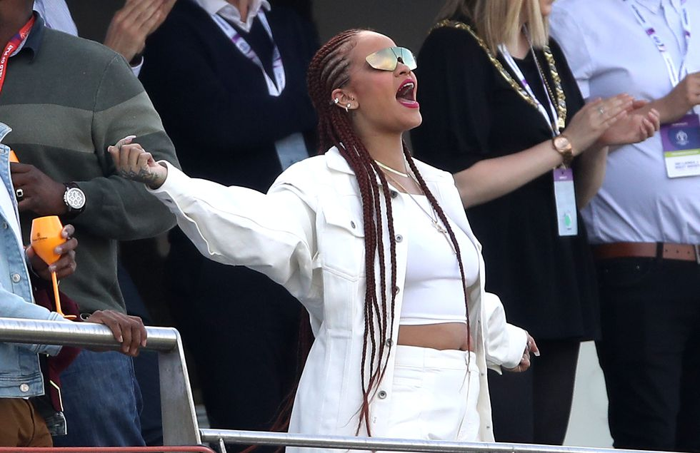 Rihanna Supports, West Indies Still Lose