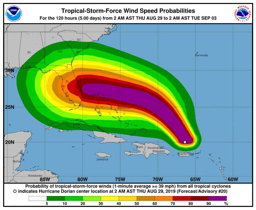 Dorian Blasts Puerto Rico, Virgin Islands