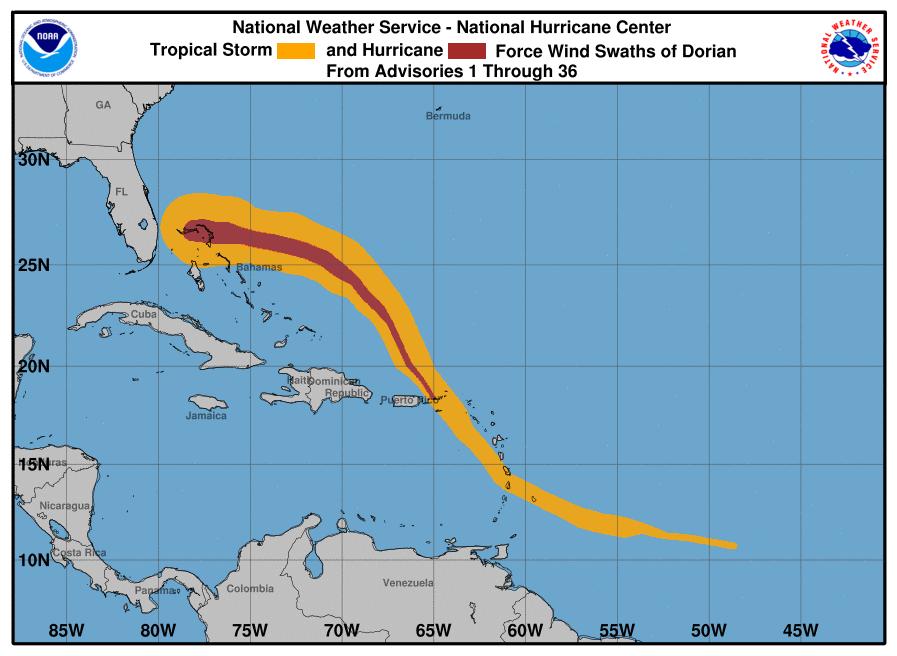 Bahamas Battered by Category 5 Dorian