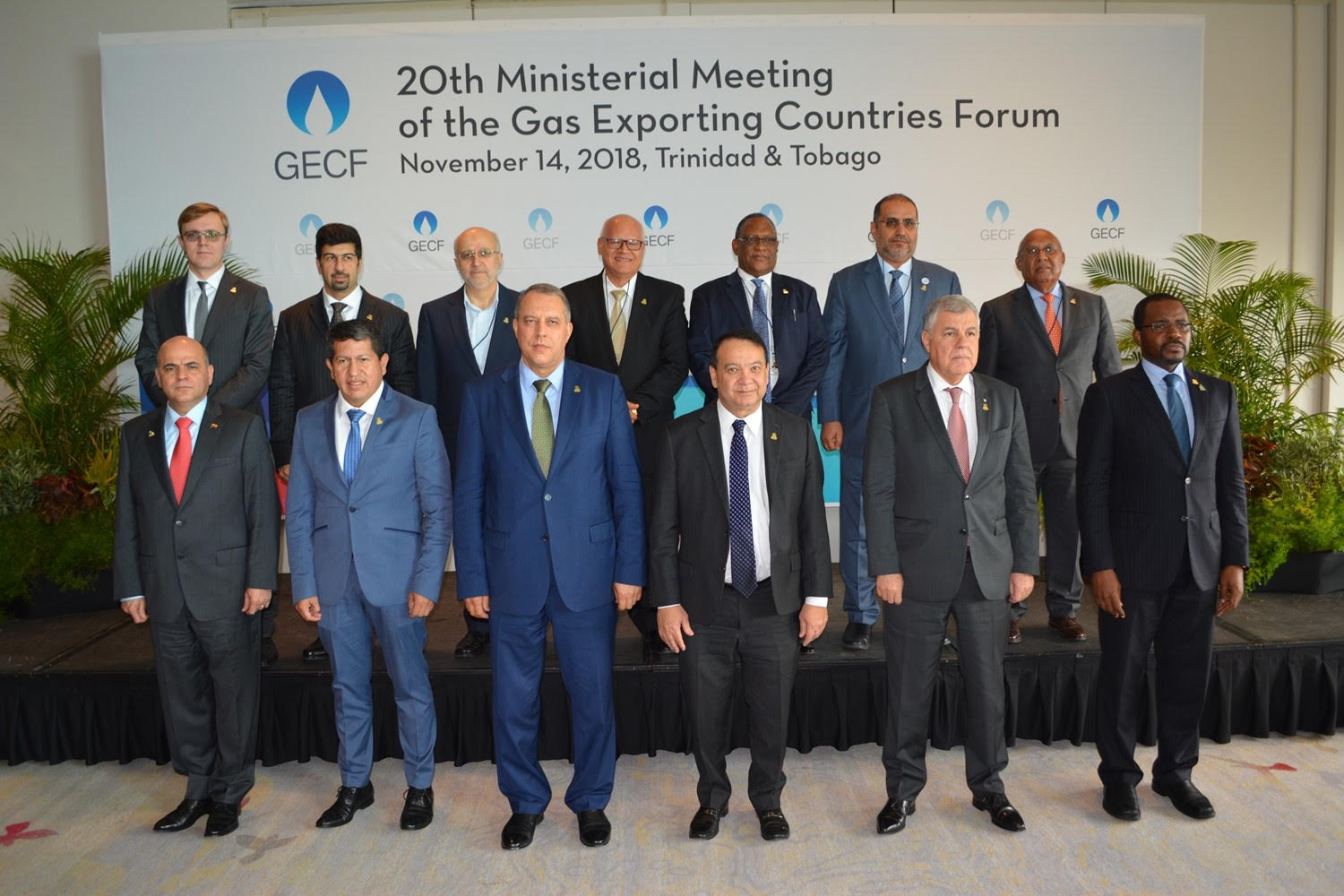 Energy Minister Attends Gas Meeting in Moscow