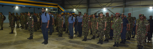 100 TT Soldiers Return from Bahamas
