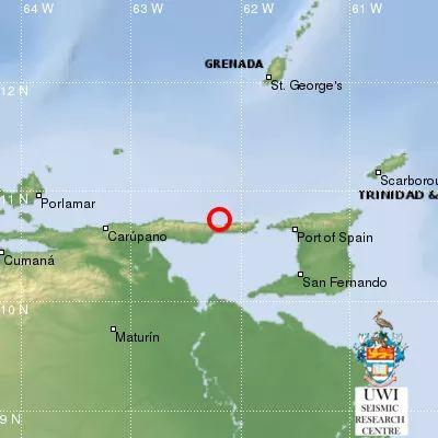 POS, Diego Martin Feel 5.1 Earthquake