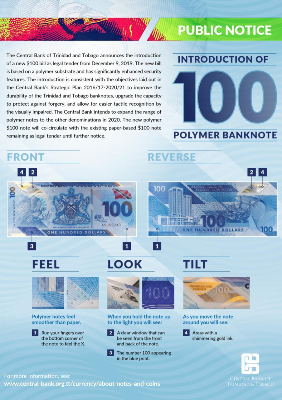 Commentary: Give Us 1 to 3 Years to Exchange Old $100 Notes for New Polymer Bills