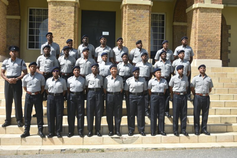 Police Recruits Told They Will Be Heroes