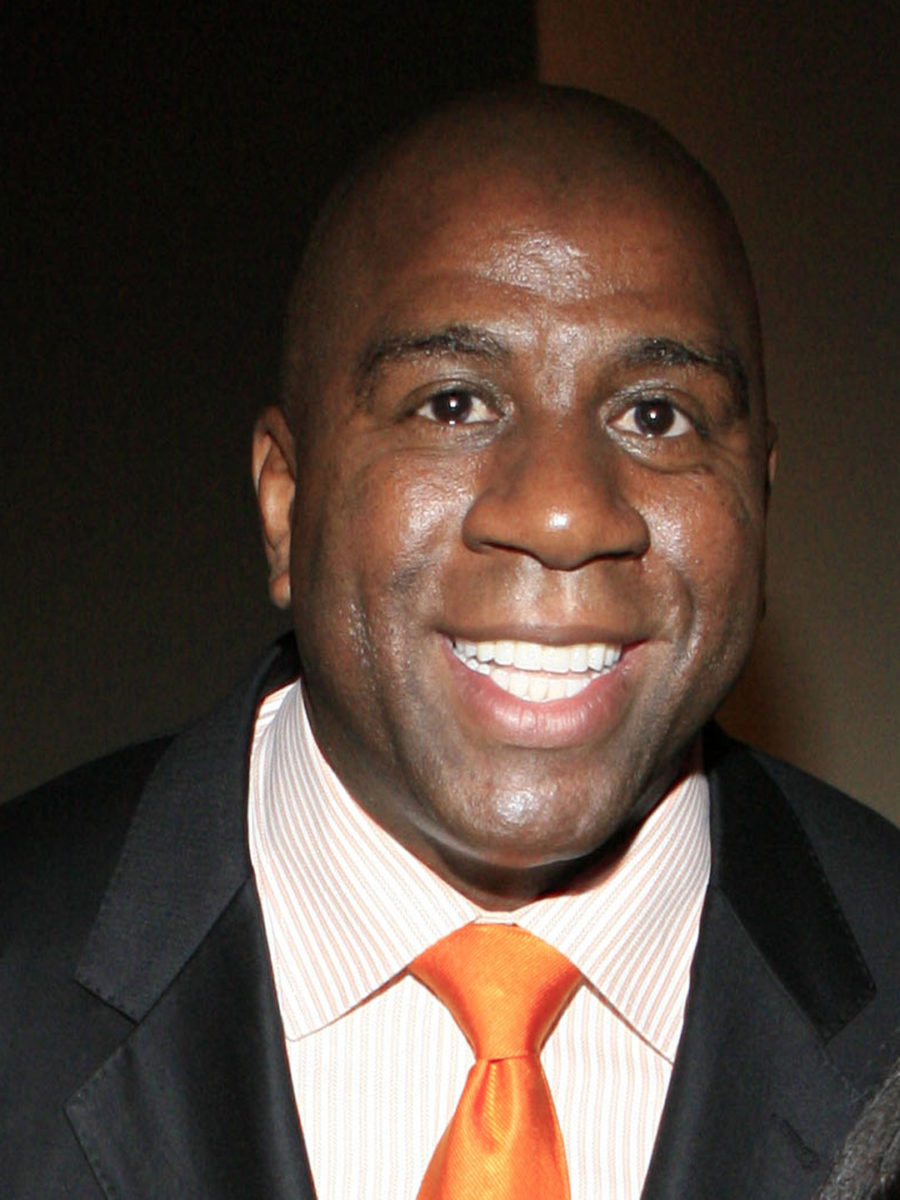 Magic Johnson Spotted in St Lucia