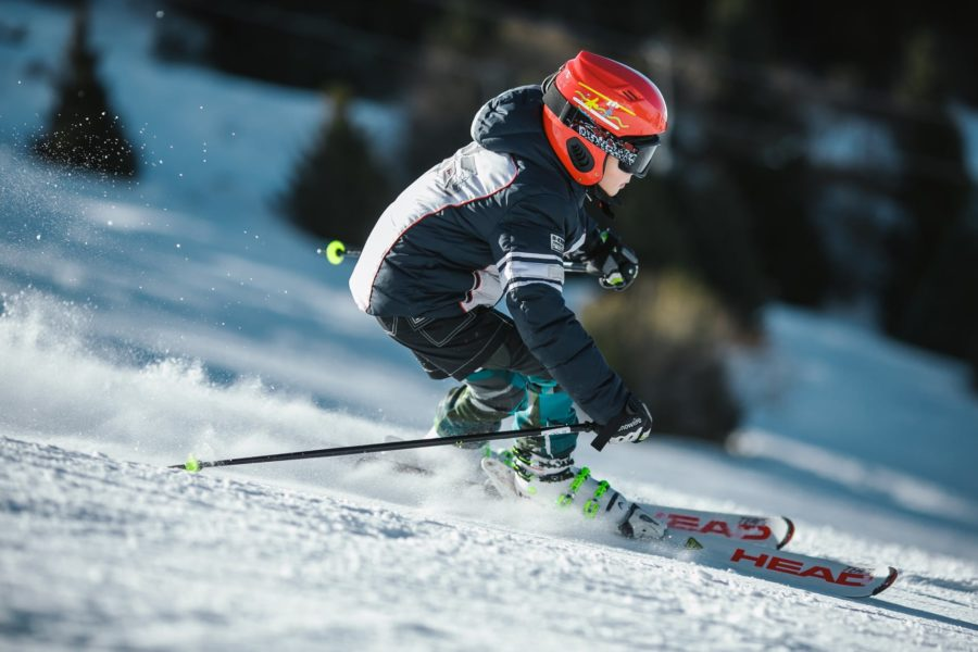 Vieira Comes in 32nd in Women's Alpine