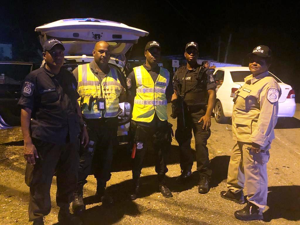 5 Held for Drunk Driving in the East