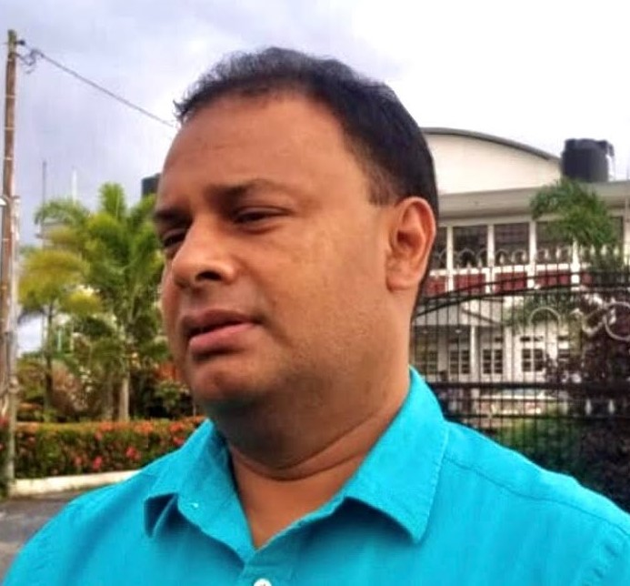 Sangre Grande Corporation Chairman Helping Police with Covid-19 Protest