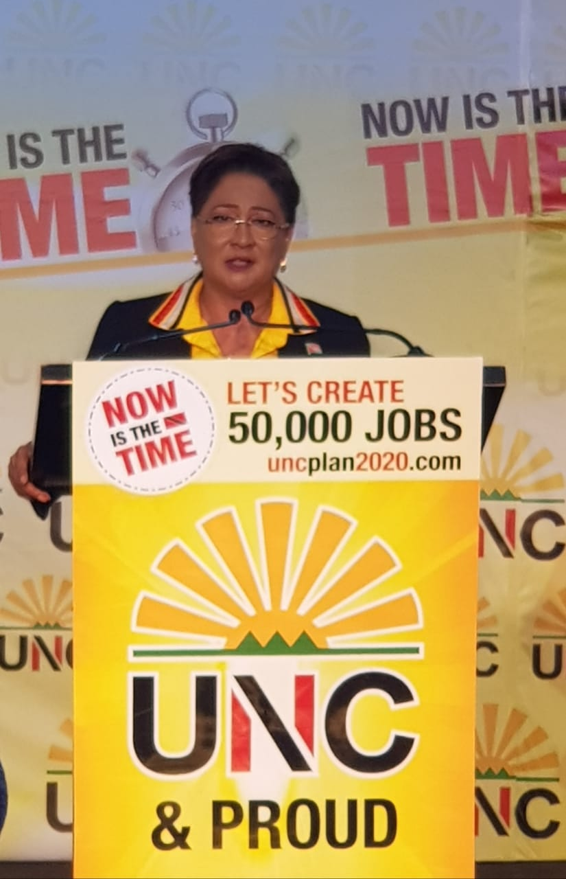 Kamla: Don't Blame Me for General Election Loss