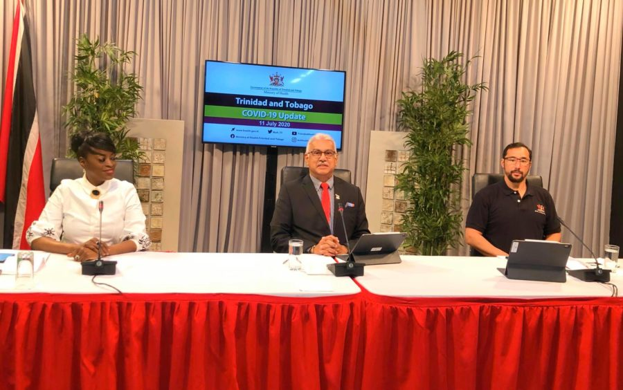 Deyalsingh: Two More Patients at Caura Hospital by Saturday Evening