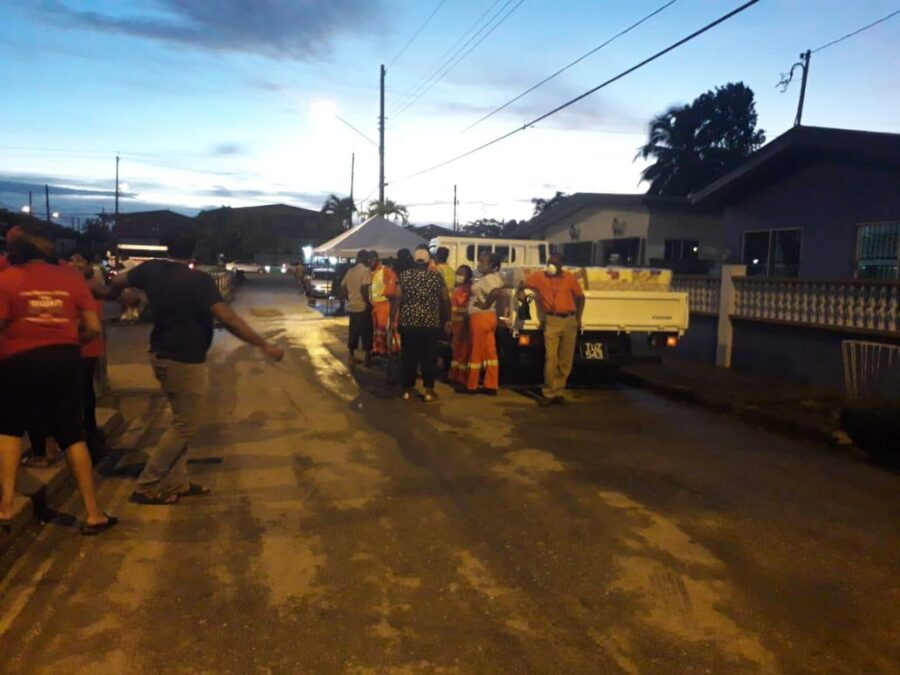 Clean-up Operations on the Way after Flooding in La Horquetta