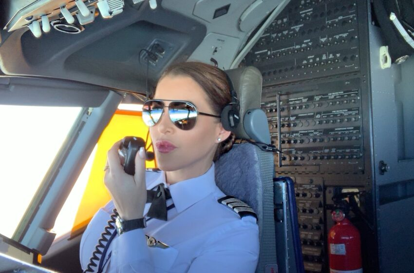 Pilot Shannon Hutchinson 'Weathering the Storm' with Her Art