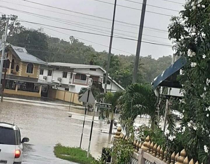Heavy Rains Cause Flooding in Parts of Trinidad