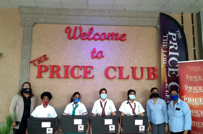 The Price Club Donates Kindles, Laptops to Students