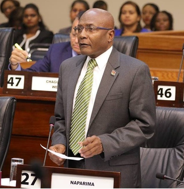 Naparima MP: Security Minister Not Up to Task