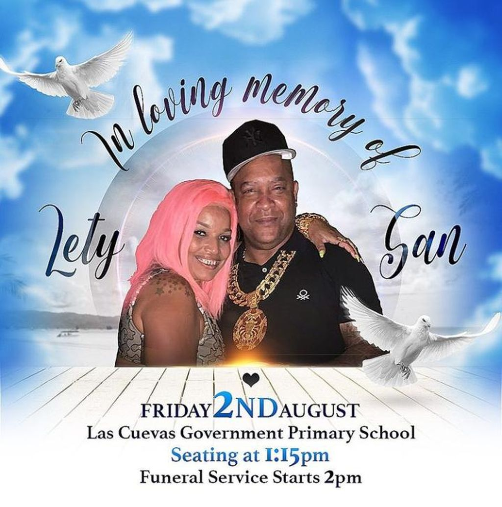 Flyer Shows 'Sandman' Funeral to Take Place at Government School