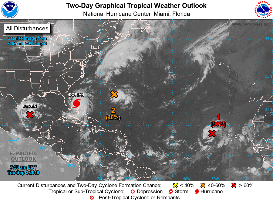 Five Die in Bahamas as Dorian Now Category 3