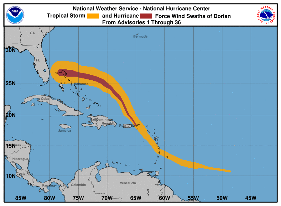 Bahamas Battered by Category 5 Dorian