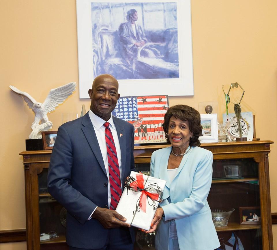 Rowley Meets US Congress Officials in Washington DC