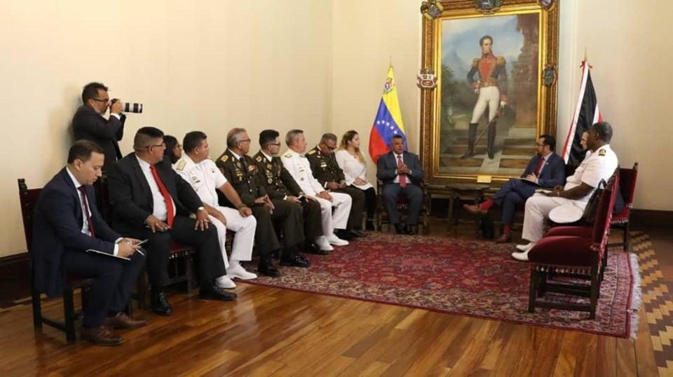 Young Visits Venezuela