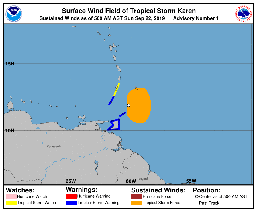 TT on Red Alert as Tropical Storm Karen Passes