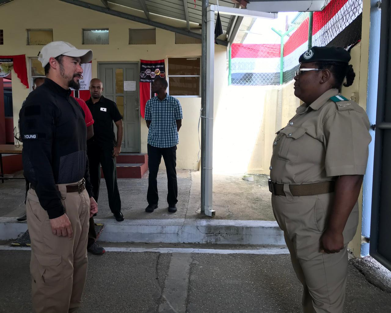 National Security Minister Tours Maximum Security Prison
