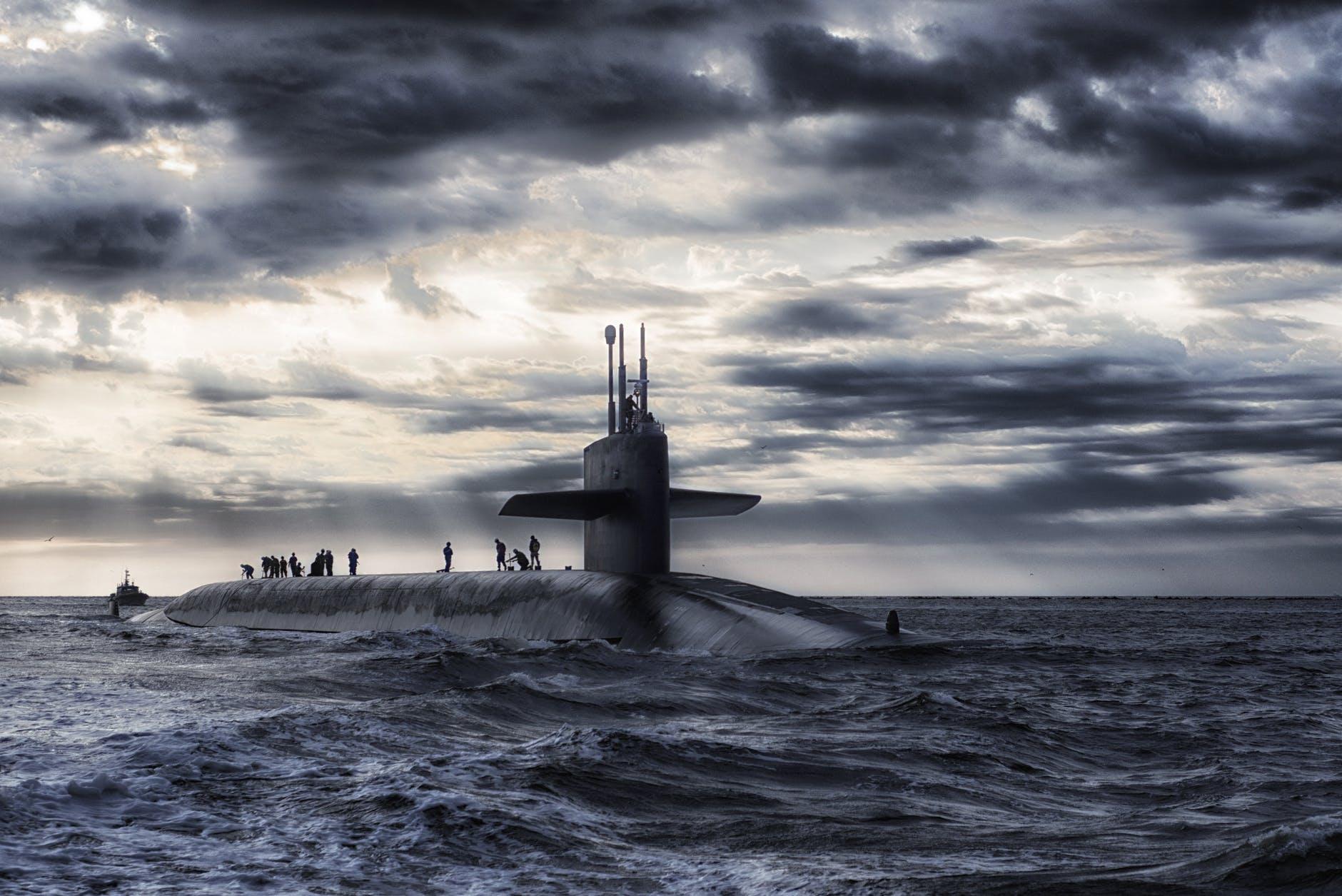 North Korea Tests Submarine Missile
