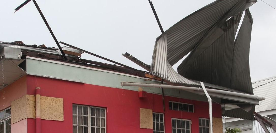 Tornado hits POS