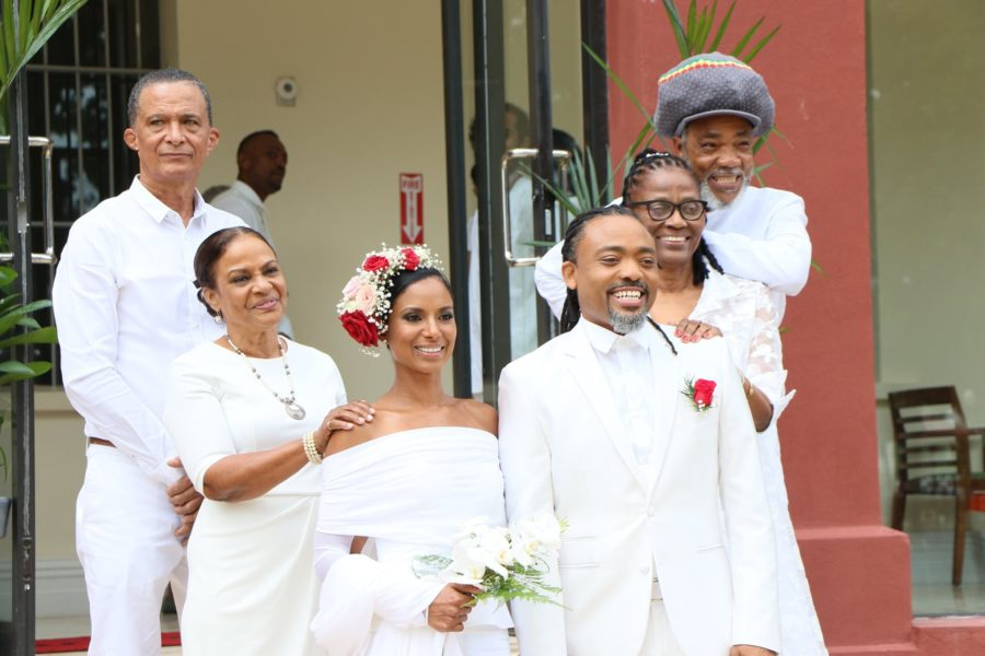 Machel Montano Gets Married at the Red House