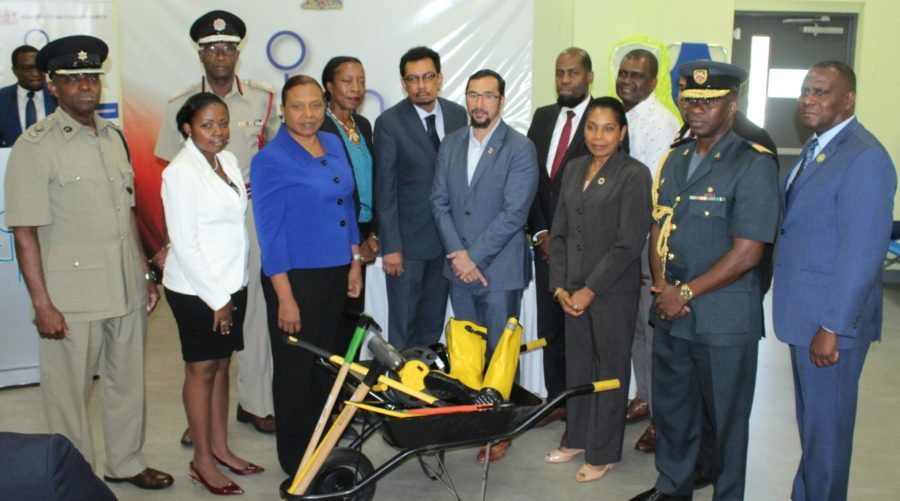 9 Organisations get Disaster Relief Items