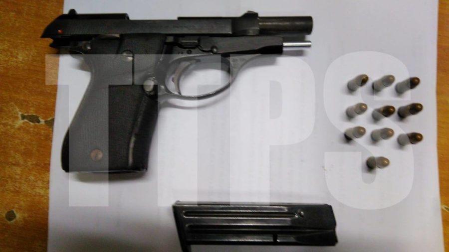 Man Held for Gun at Party