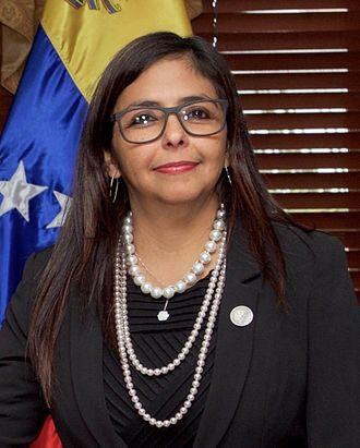 US Ambassador Expresses Concern About Delcy Rodriguez Visit to Trinidad