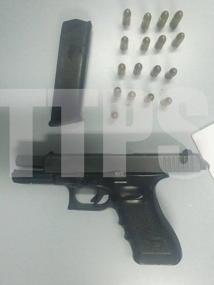 Police Seize Gun with Automatic Firing Selector