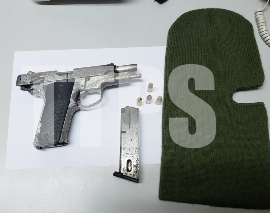 Police Recover Pistol in Anti-Crime Exercise in POS