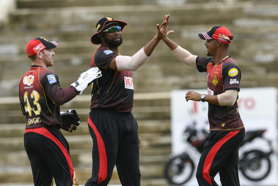 TKR Wins CPL Opener with 2 Balls to Spare