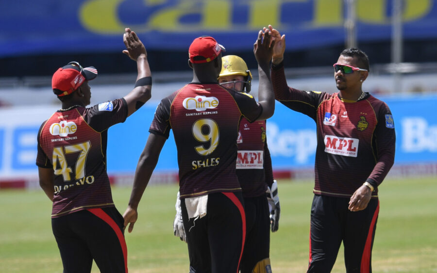TKR Beat Tridents To Remain on Top in CPL Standings