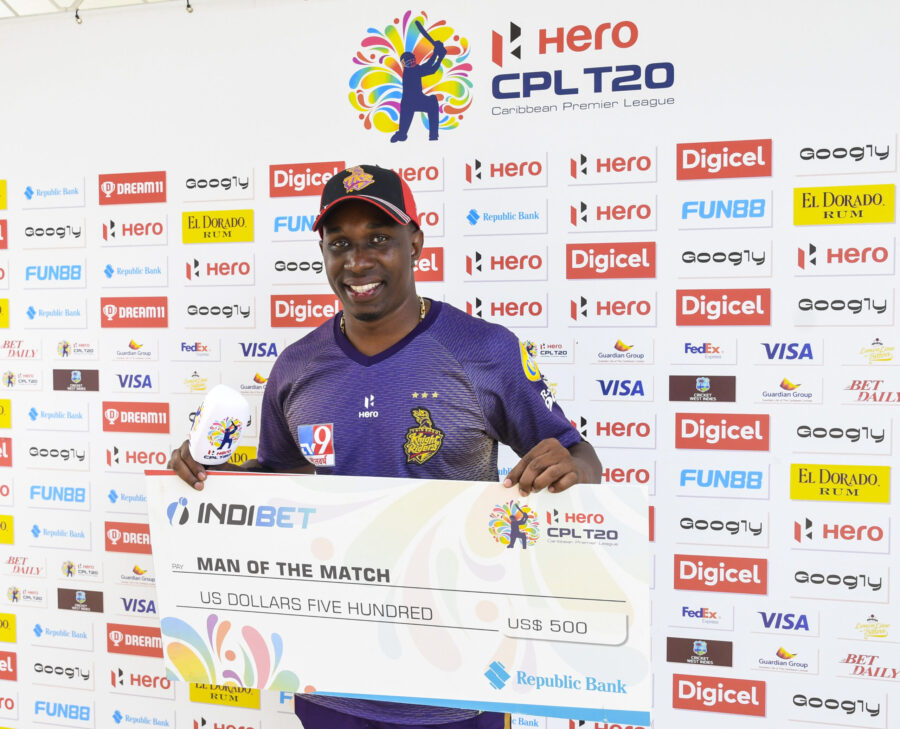 Dwayne Bravo Gets to 500 T20 Wickets in TRK Win vs Zouks