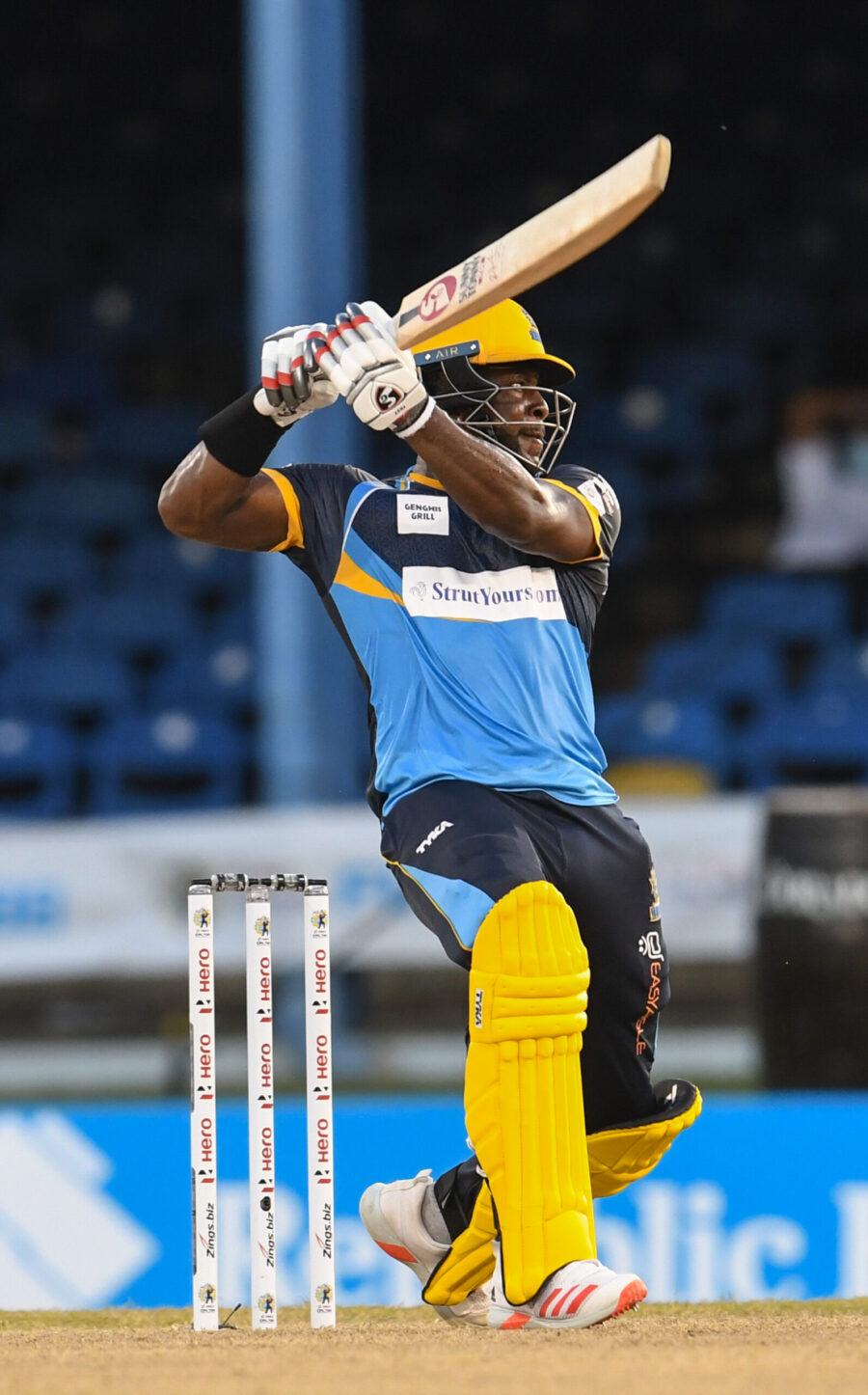 Mayers Leads Tridents to Victory over Tallawahs