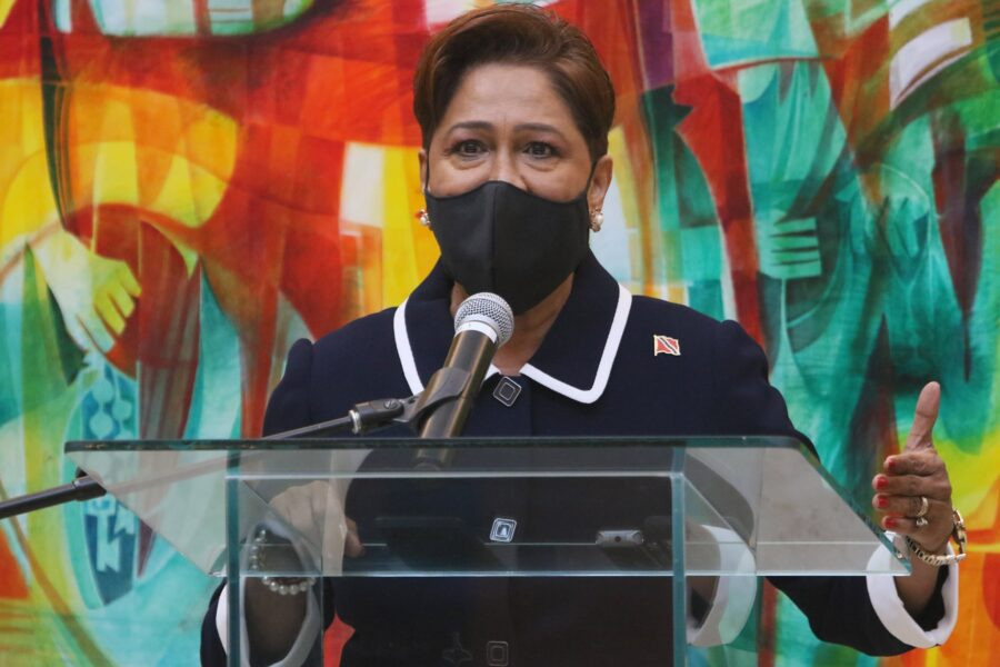 Kamla Calls for Humility, Unity to Fight Pandemic