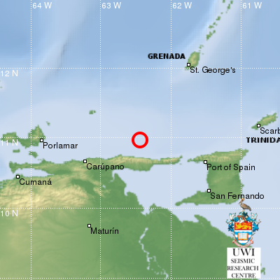 5.3 Earthquake Hits Trinidad
