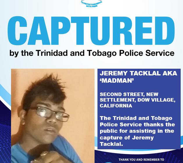Crime Round-up Monday: Police Capture 3 Men
