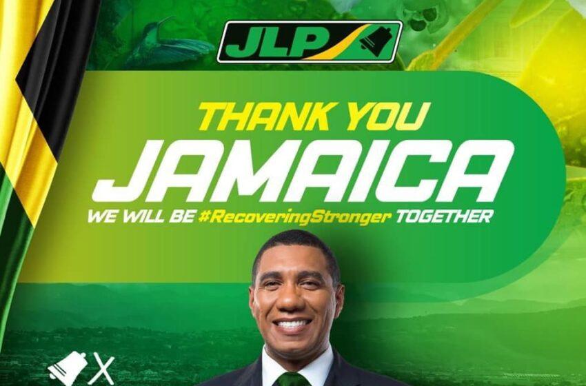 Landslide Victory for JLP