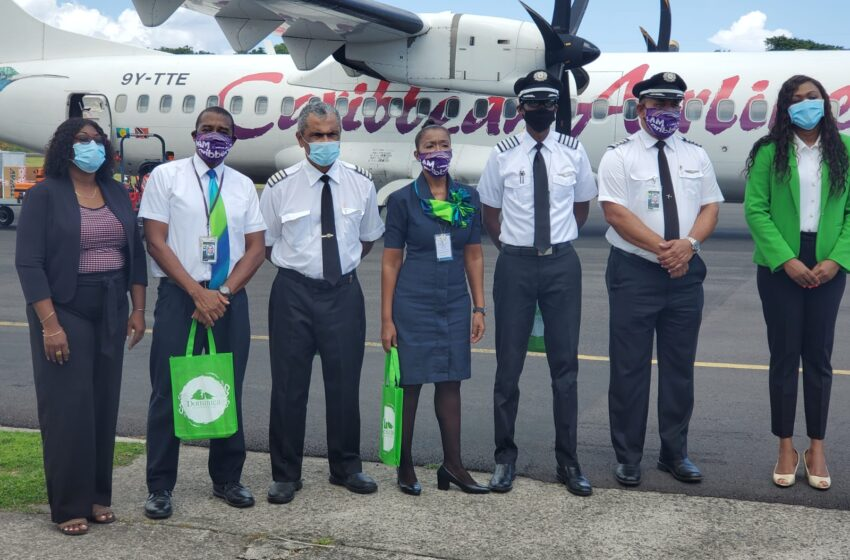CAL Starts New Service Between Barbados & Dominica