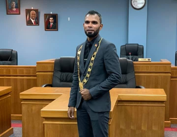 Faaiq Mohammed is New Chaguanas Mayor