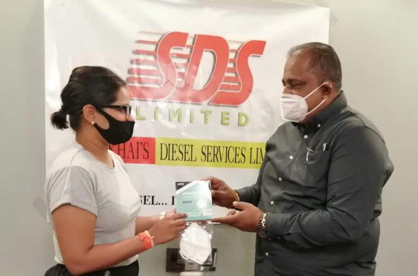 Sookhai's Donates 2,000 N95 Masks