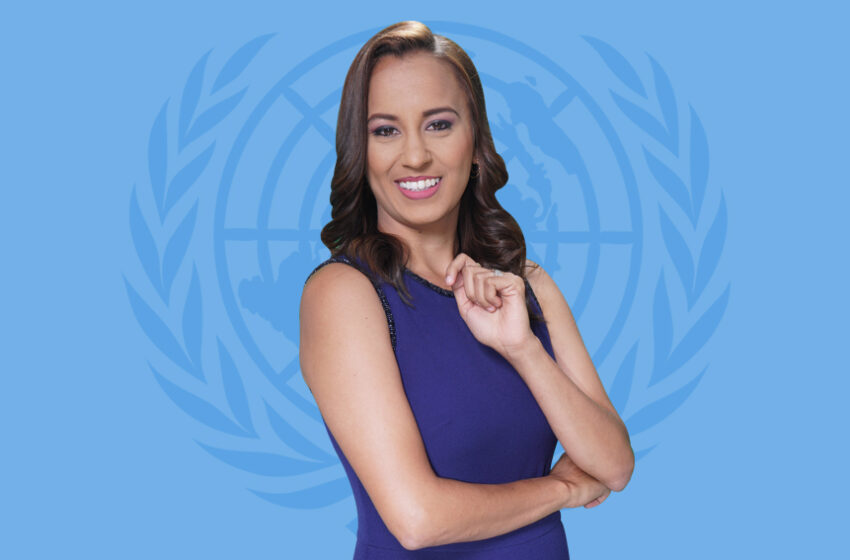 Faine Richards Joins UN in T&T