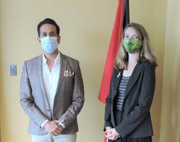 AG Meets New British High Commissioner