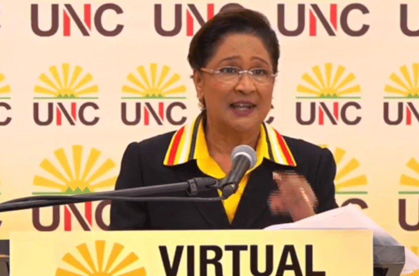 Kamla: AG Blatantly Broke Law he Took to Parliament